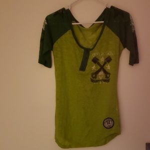 Green Affliction top